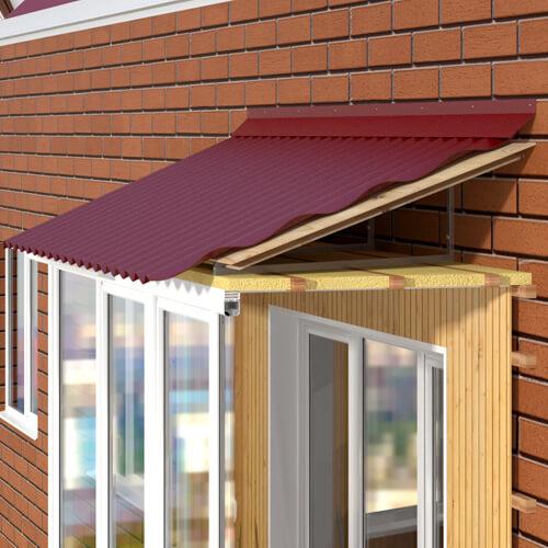 Недорогая отделка балкона под ключ в доме п44 onokna.